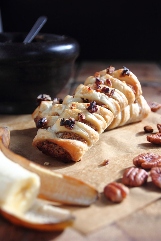 Pecan Banana Danish | Snap a Bite