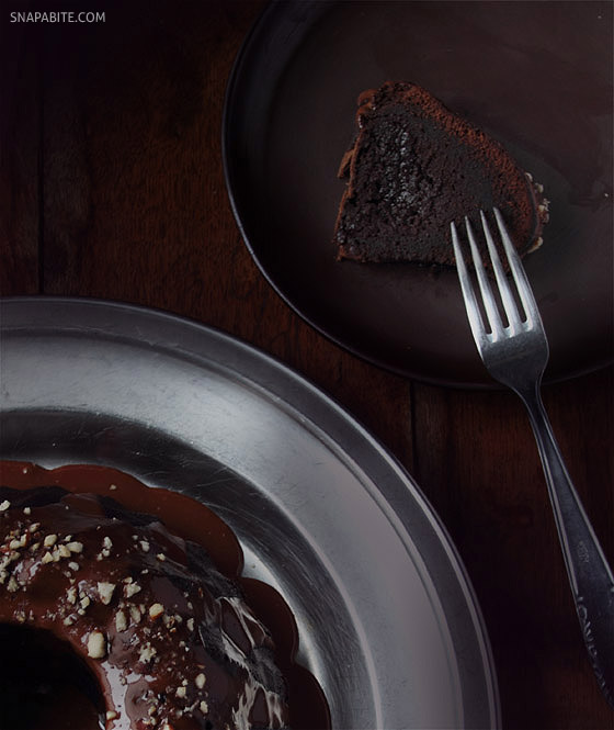 Chocolate Fudge Cake | Snap a Bite